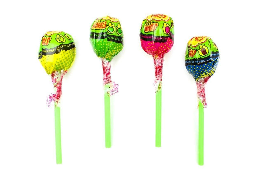 Chupa Chups Sour Infernal Lollipop Single