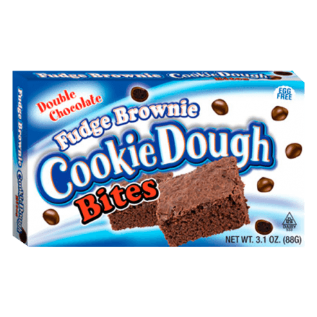 Fudge Brownie Cookie Dough Bites Theater Box