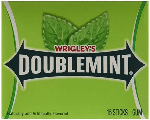 Wrigley's Doublemint 15 Stick Pack