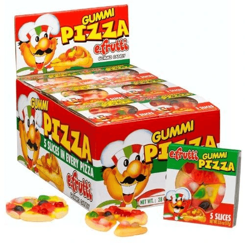 Small Gummi Pizza Tray Box