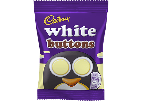 Cadbury White Buttons 32.4g