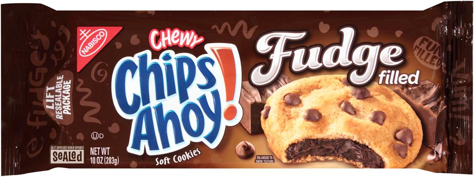 Chips Ahoy Chewy Fudge Filled 283g