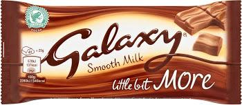 "Galaxy ""A Little More"" Bar 75g"