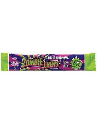 Zombie Chews Sour Grape Bar