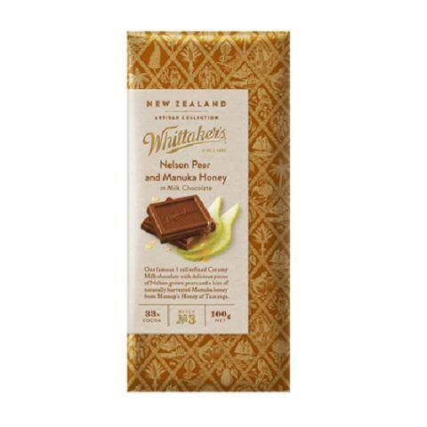 Whittakers Pear and Honey Chocolate bar