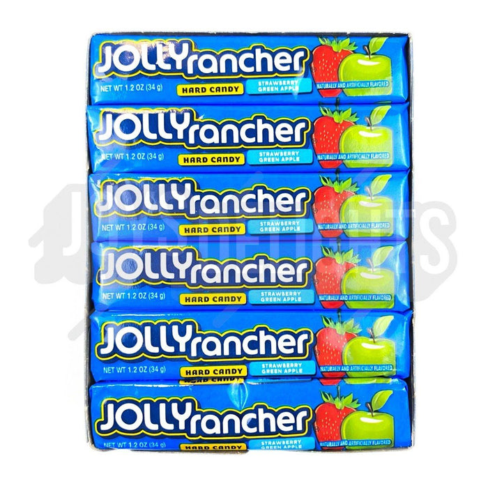 Jolly Rancher Green Apple & Strawberry 34g Bulk