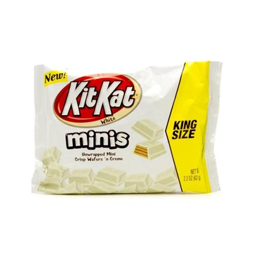 Kit Kat White Minis King Size Bag