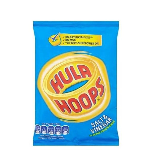 Hula Hoops Salt & Vinegar 34g