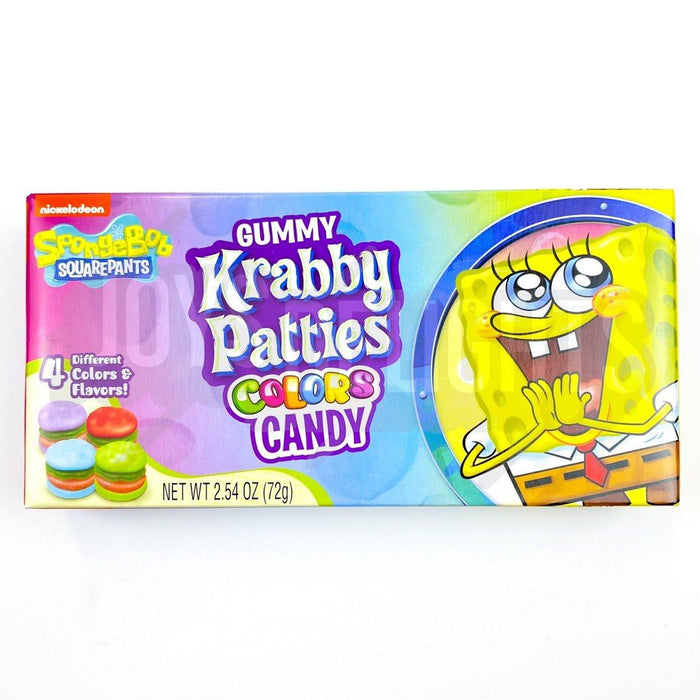 Spongebob Krabby Pattie Colours Theatre Bulk