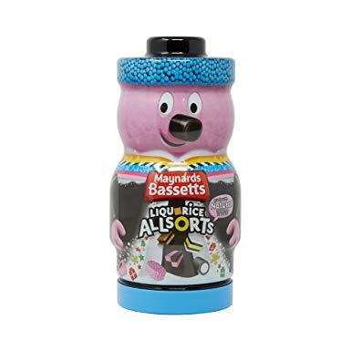 Licorice Allsorts Collectable Jar 495g