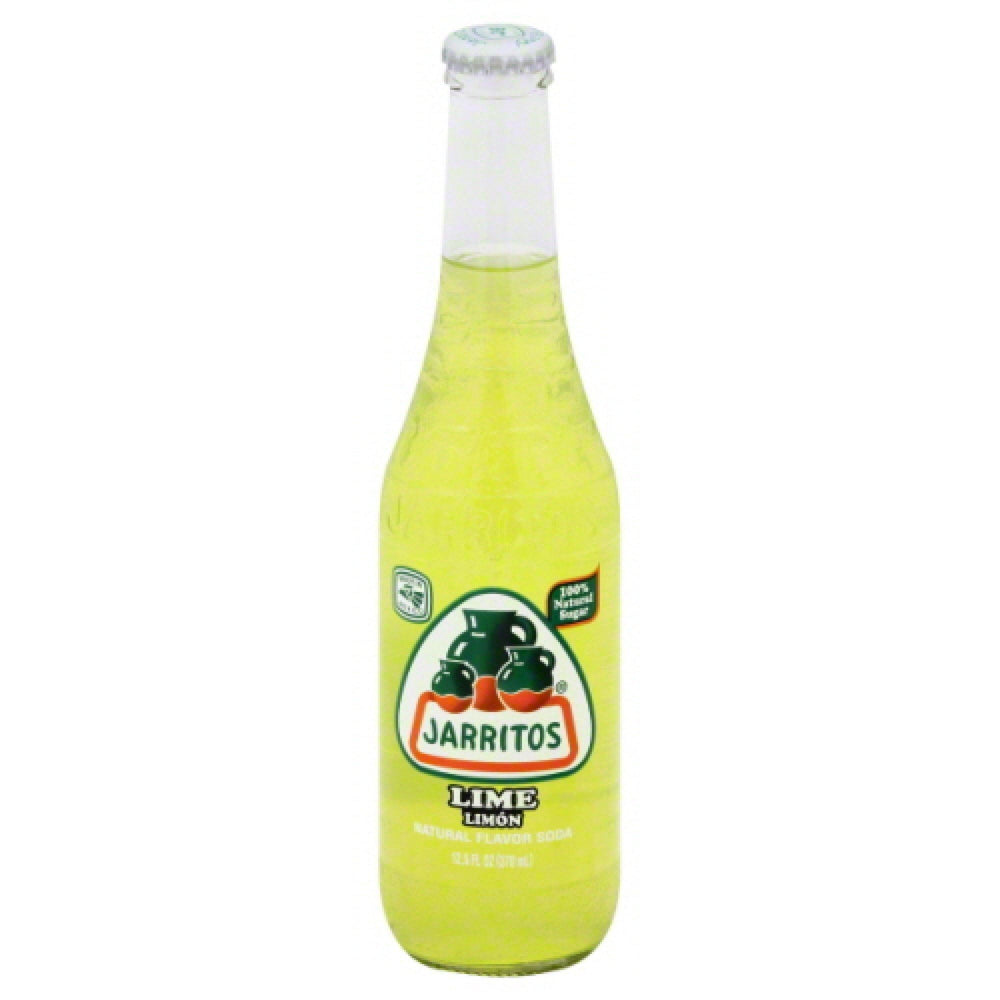 Jarritos Lime Bottle