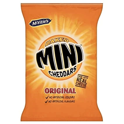 Baked Mini Cheddars Original