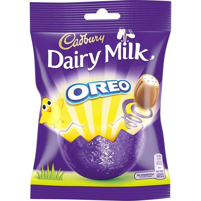 Cadbury Oreo Eggs Bag 82g