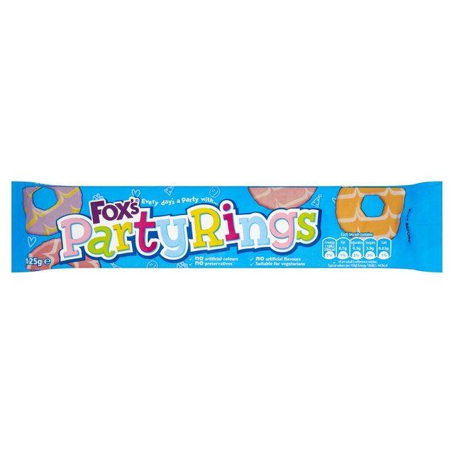 Fox's Party Rings Bulk