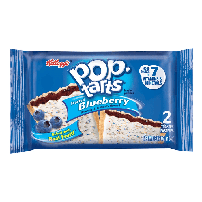 Pop Tarts Twin Pack Blueberry