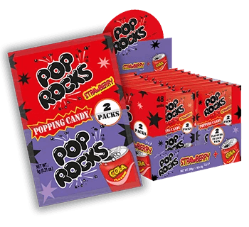 Pop Rocks Strawberry & Cola Box