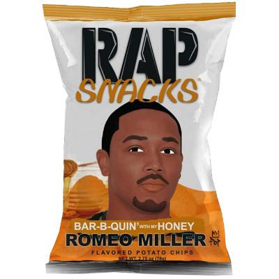 Rap Snacks Romeo Miller Bar-B-Quin with my Honey 78g