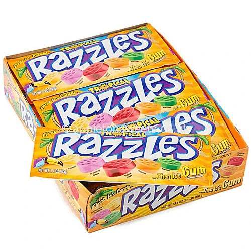 Razzles Tropical Box
