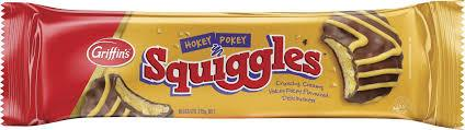 Griffins Biscuits Squiggles Hokey Pokey Bulk