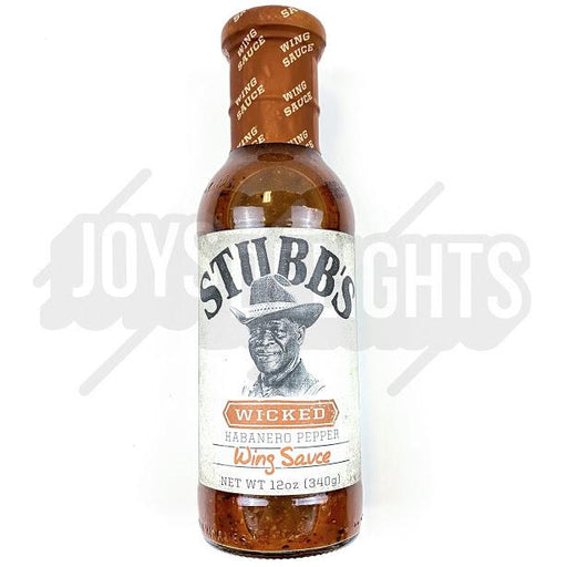Stubbs Wicked Wing Sauce 340g