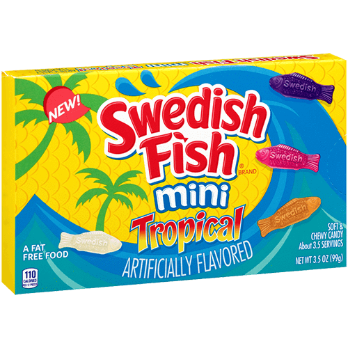 Swedish Fish Mini Tropical Bulk