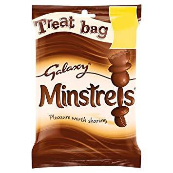 Galaxy Minstrels Treat Bag 80g