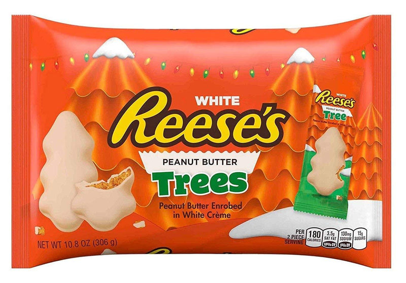 Reeses White Chocolate Trees 306g
