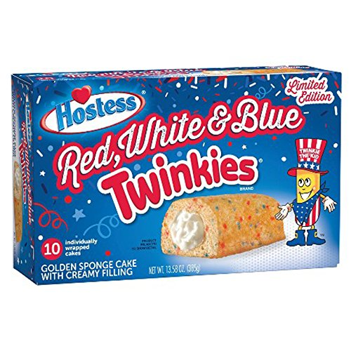 Hostess Red, White & Blue Twinkies Bulk