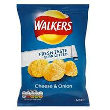 Walkers Cheese & Onion Large Bulk