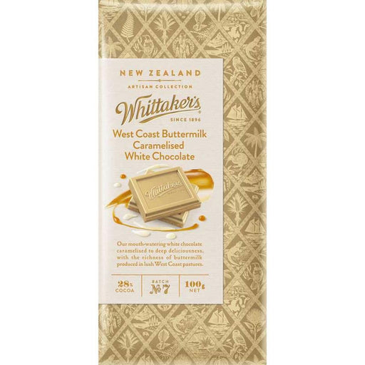 Whittakers Caramelised White Chocolate