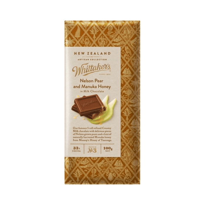 Whittaker's Pear & Honey Bulk
