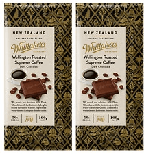 Whittaker's Wellington Roasted Supreme Coffee Bar Bulk