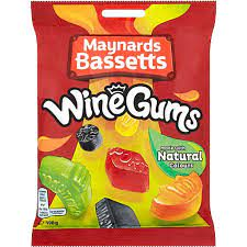 Wine Gums Bag 190g