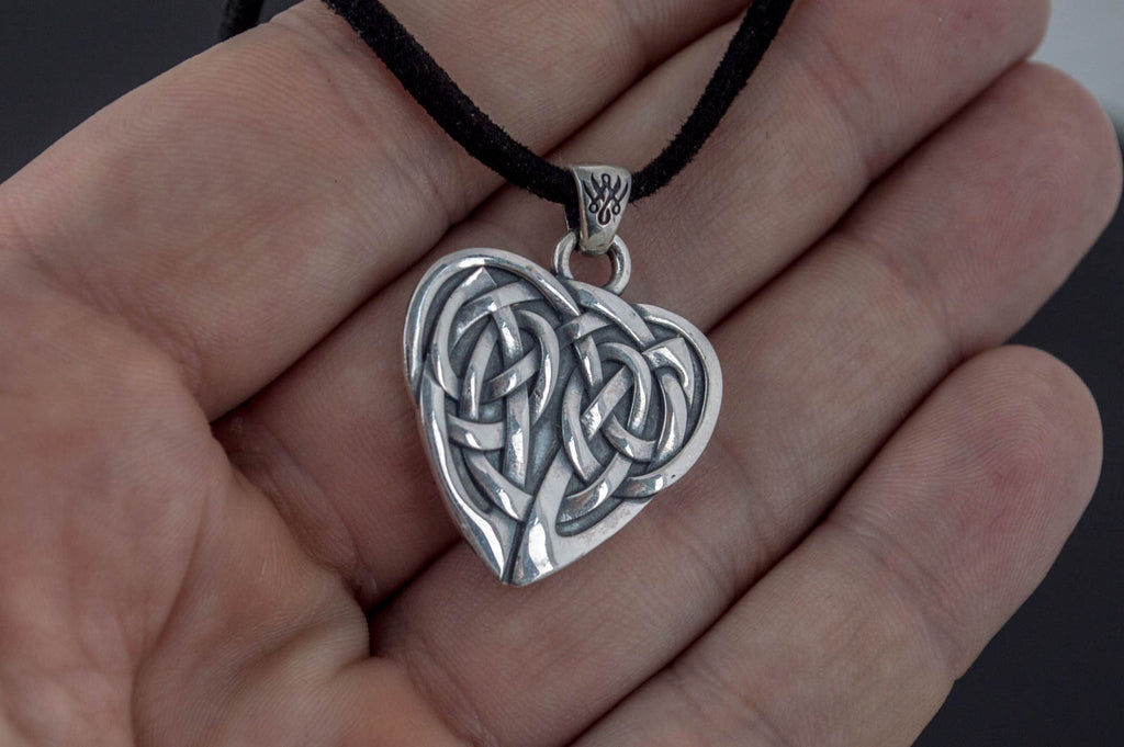The Ornament Pendant Sterling Silver Handmade Jewelry - Viking-Handmade