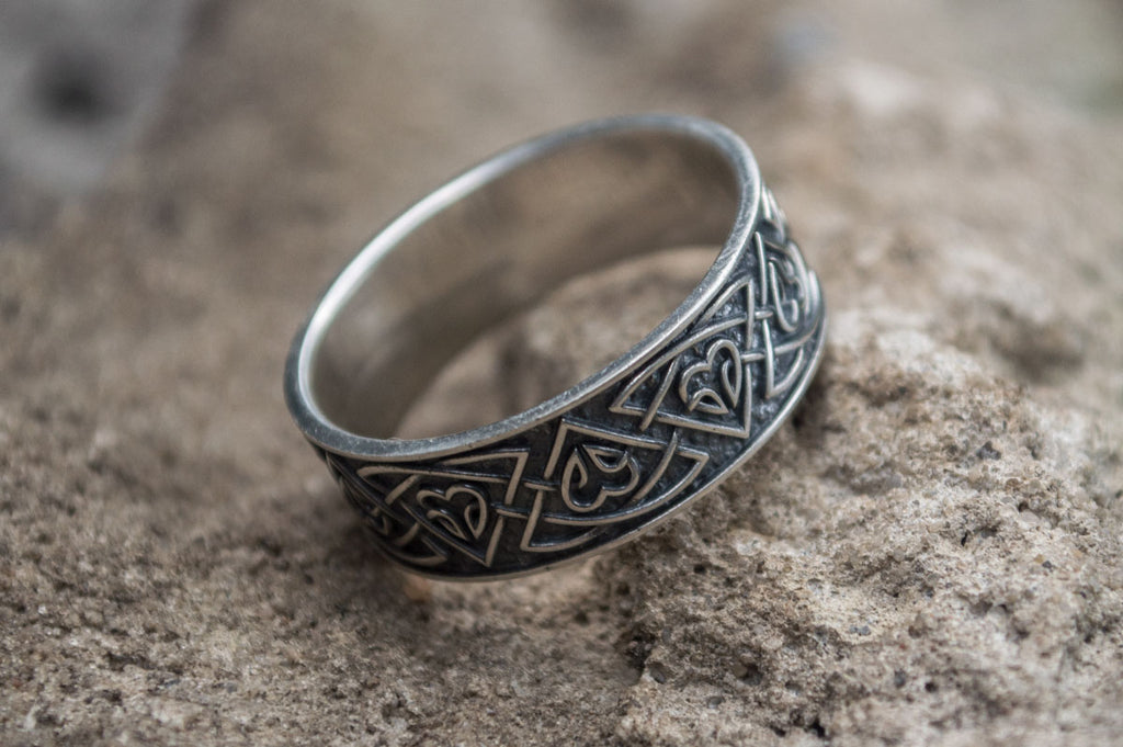 Norse Ornament Sterling Silver - Viking-Handmade