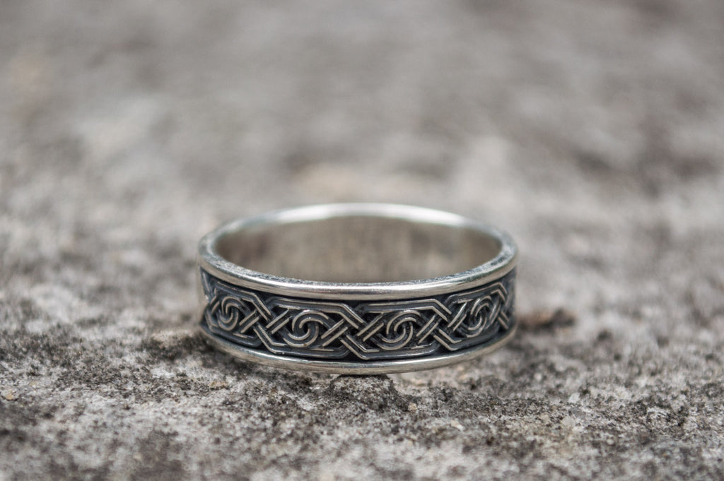 Ornament Sterling Silver - Viking-Handmade
