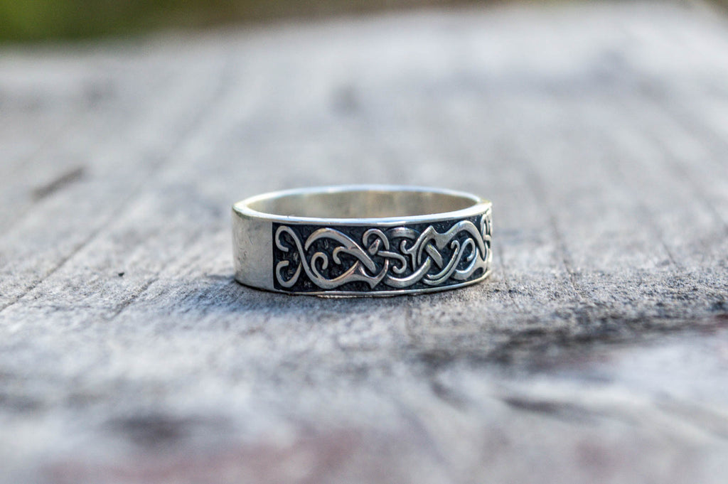 Ornament Ring - Viking-Handmade
