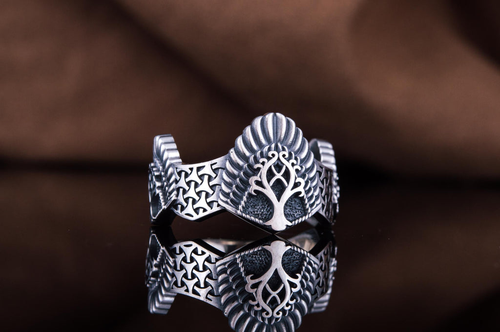 Yggdrasil Ring - Viking-Handmade