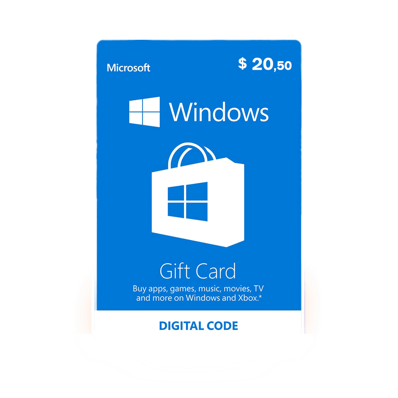 WINDOWS GIFT CARD