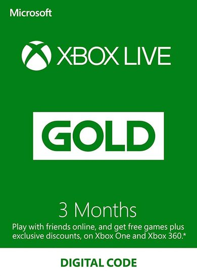 XBOX Gift Card - 3 month