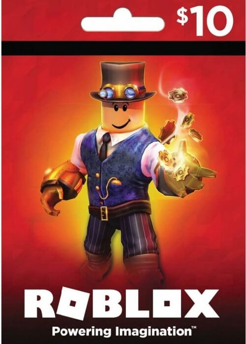 Roblox 10 $ Game Card (Global)