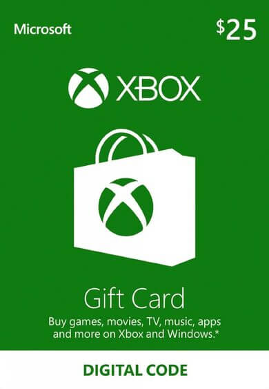 XBOX Gift Card - 25 USD