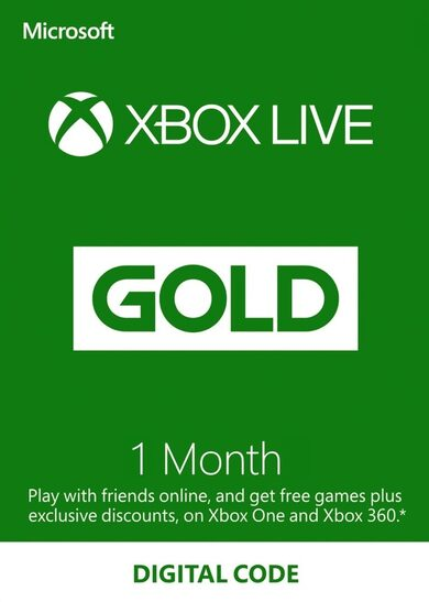 XBOX Gift Card - 1 month