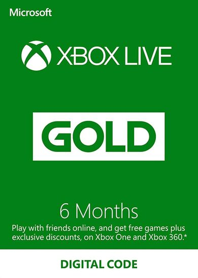 XBOX Gift Card - 6 month