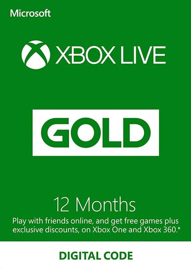 XBOX Gift Card -12 month