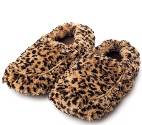 Warmies Leopard Slippers