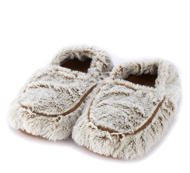 Warmies Mocha Marshmallow Slippers