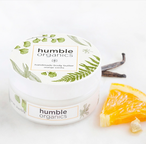 Organic Orange Vanilla Body Butter