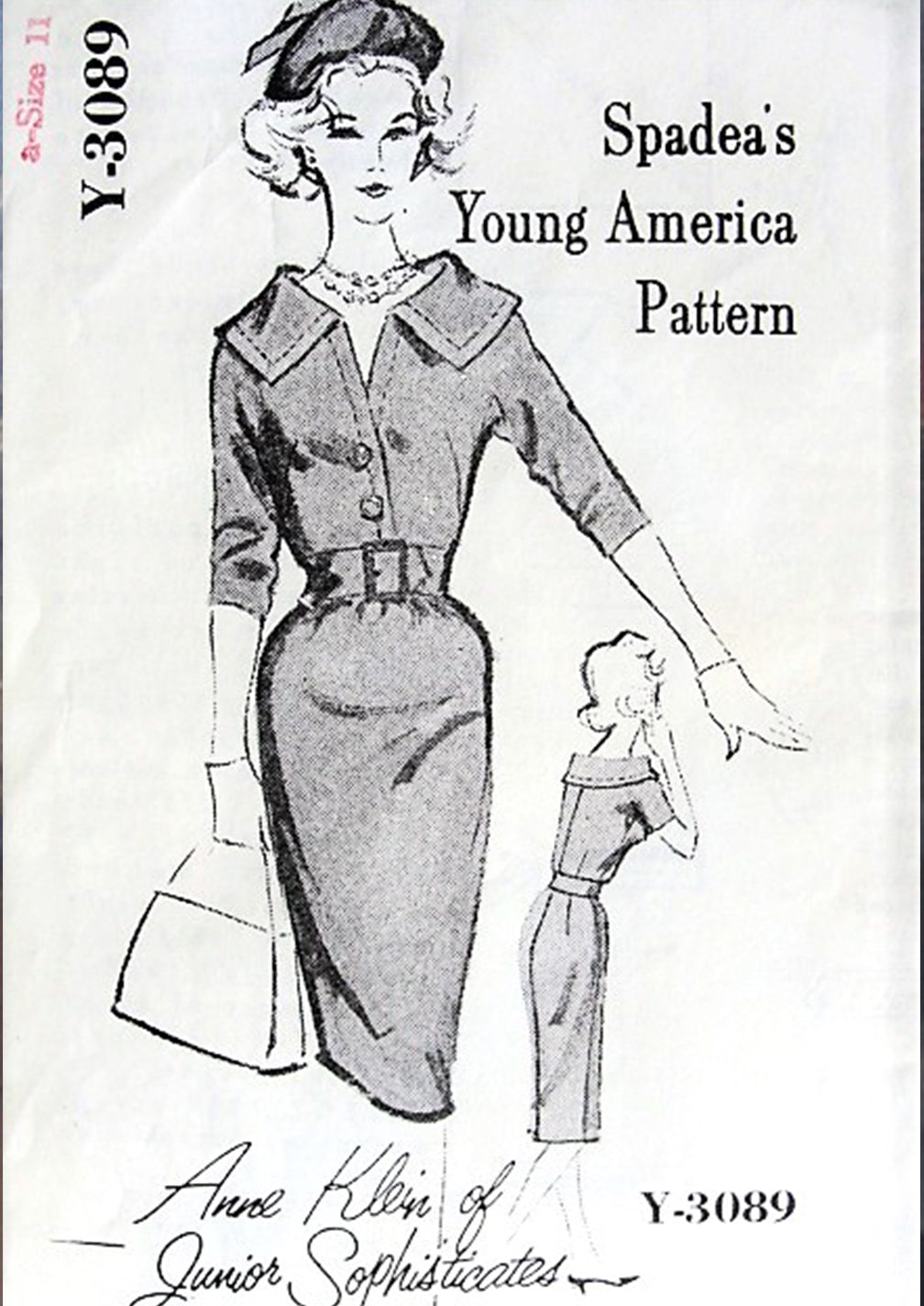 Spadea's Young America Pattern Anne Klein of Junior Sophisticates