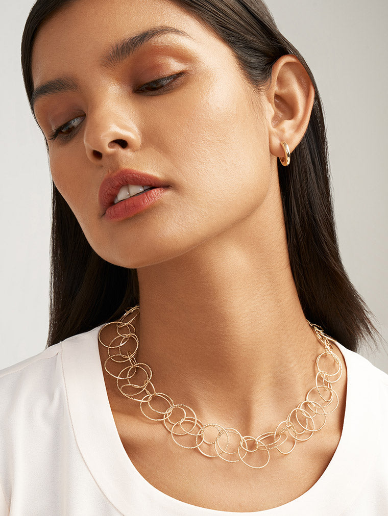 Anne Klein Necklace on Model